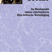 Cover Gutzkow Über Goethe