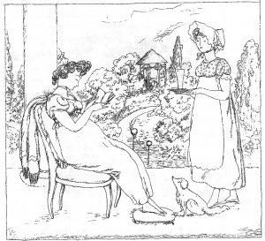 Illustration zum Schnabelewopski von Heine