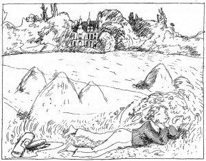 Illustration zum Schnebelewopski