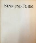 Sinn und Form