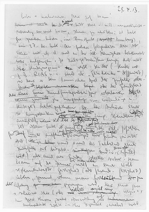 Brief Thomas Mann