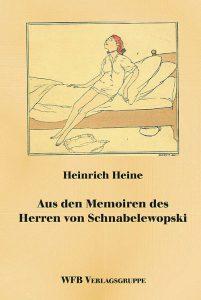 Umschlag der Hardcoverausgabe von Heines Schwabelewopski