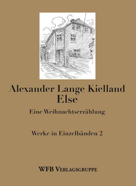 Umschlag Else von Kielland